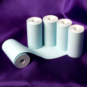 57 x 30 Coreless Thermal Roll (Blue)-0