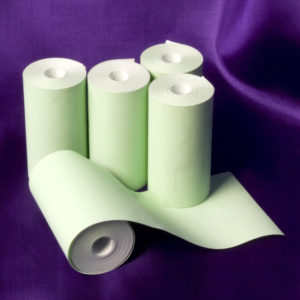 57 x 30 Coreless Thermal Roll (Green)-0