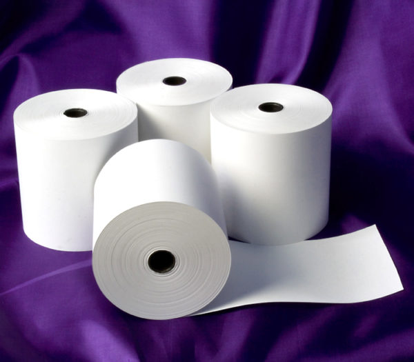80 x 80 Thermal Rolls (White)-0