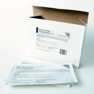 Thermal Printer Cleaning Cards (80mm wide Printers)-0