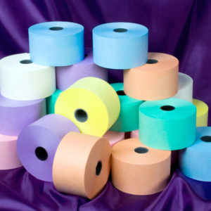 44 x 80 Laundry Rolls Blue, Green, Mauve, Orange, Pink, White, Yellow-0