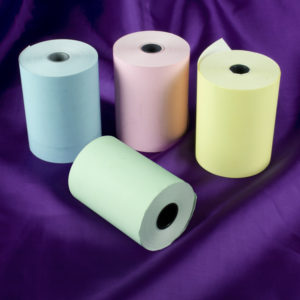 57 x 40 Thermal Roll Blue, Green, Pink, Yellow-0